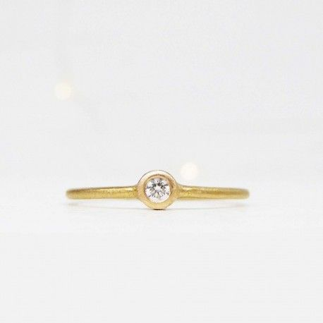 Anillo oro amarillo y diamante ICE