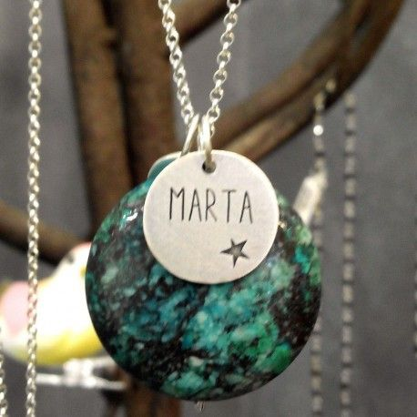 CUSTOMIZED PENDANT WITH STONE