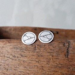 STROKE mini earrings